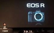 佳能宣布推出EOS R全画幅无反光镜相机
